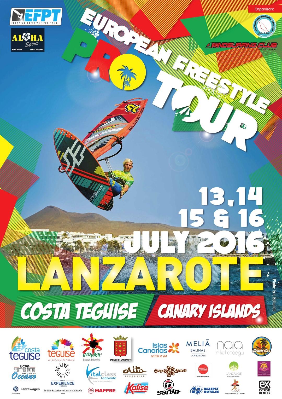 Efpt 2016 -Windsurf Lanzarote-
