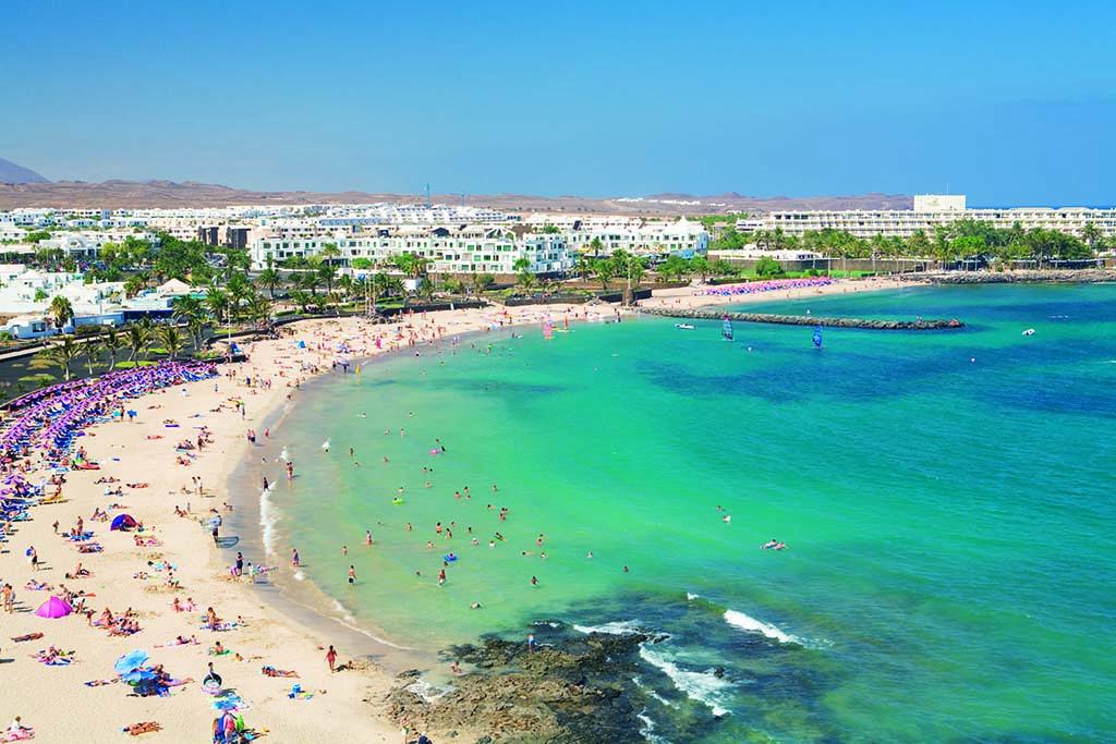 Playa Las Cucharas; Costa Teguise; Lanzarote